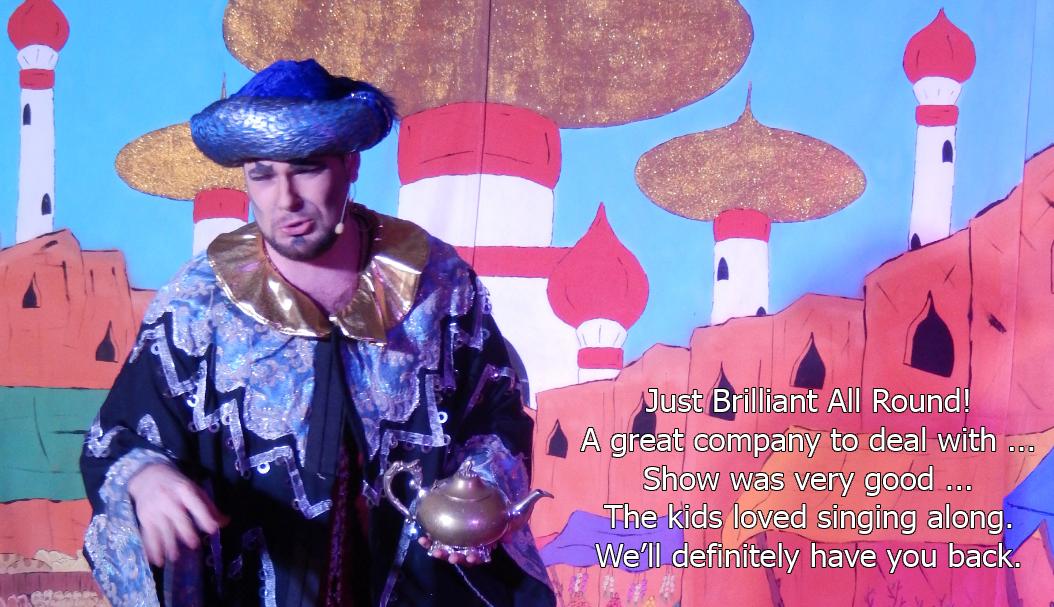 Aladdin Touring Pantomime